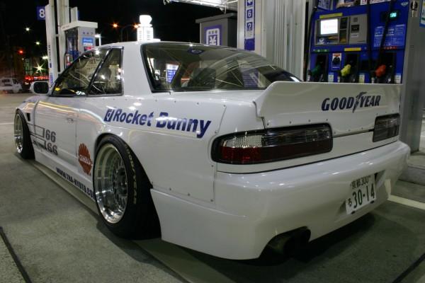SpeedParts biz - Rocket Bunny, Seibon Carbon, APR Wing, Nissan 240sx